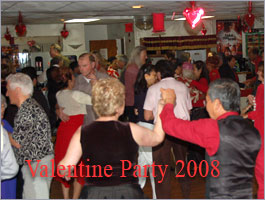 Ballroom dance social party